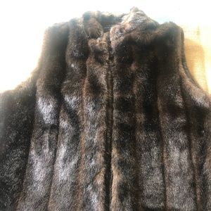 Preston & York Faux Fur Vest